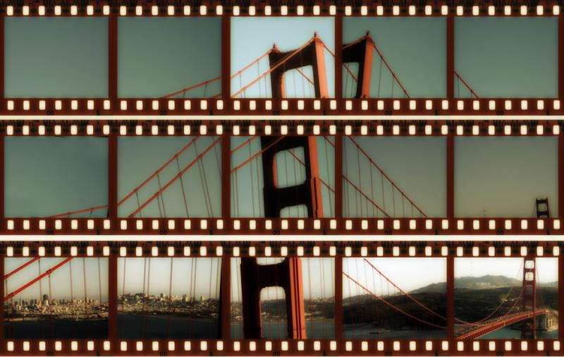 Golden Gate Abstracts, Midnight Sepia