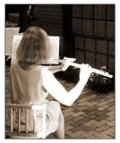 Beacon Hill Art Walk - Flutist