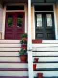 Cambridge - Colorful Doorways