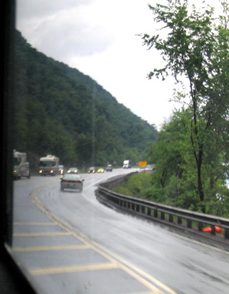 On the Road--Caravans End