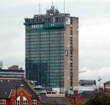 Sunley Tower with its new re-fit