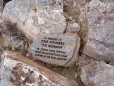 Jesse Goldberg Memorial on Iron Mountain
