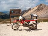 CRF450X at 12,800ft In Colorado