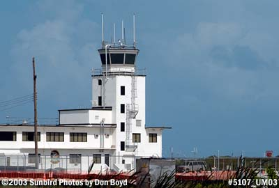 Control Tower at NAF Key West (Boca Chica) military aviation stock photo #5107
