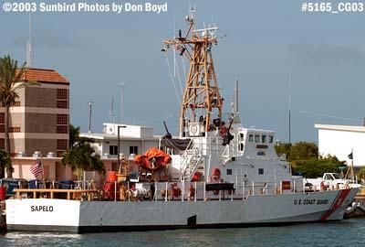 2003 - USCG Cutter SAPELO (WPB 1314) Coast Guard stock photo #5165
