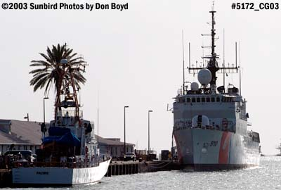 2003 - USCG Cutter PADRE (WPB 1328) and USCG Cutter THETIS (WMEC 910) Coast Guard stock photo # 5172