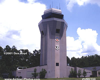2001 - Air Traffic Control Tower at Moody AFB military aviation stock photo #UM0133