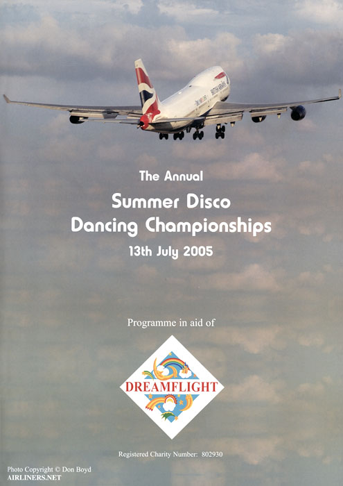 2005 - Dreamflights Annual Summer Disco Dancing Championships