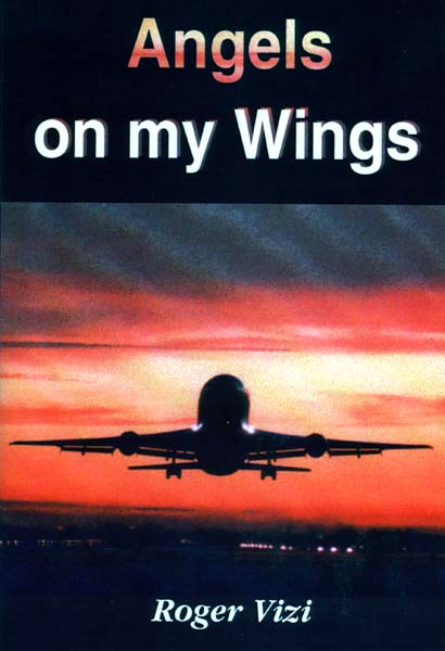 2001 - Cover of Roger Vizis paperback Angels on my Wings