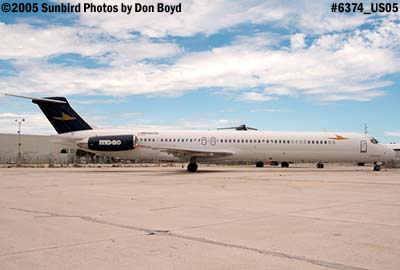Falcon Air Express MD-82 N905TA aviation airline stock photo #6374