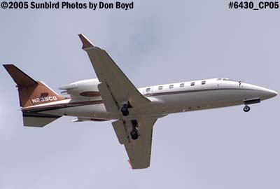 Easy Flight LLCs Learjet 60 N235CG corporate aviation stock photo #6430