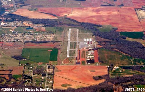 2004 - Madison County Executive Airport aerial aviation stock photo #9771