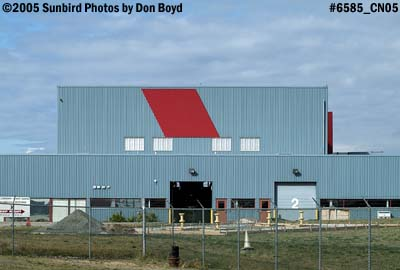 Canadian Coast Guard facility on the south side of Vancouver International Airport stock photo #6585