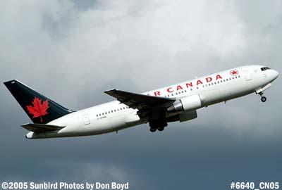 Air Canada B767-275 C-GPWB aviation airline stock photo #6640