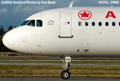 Air Canada A320 C-**** aviation airline stock photo #6741