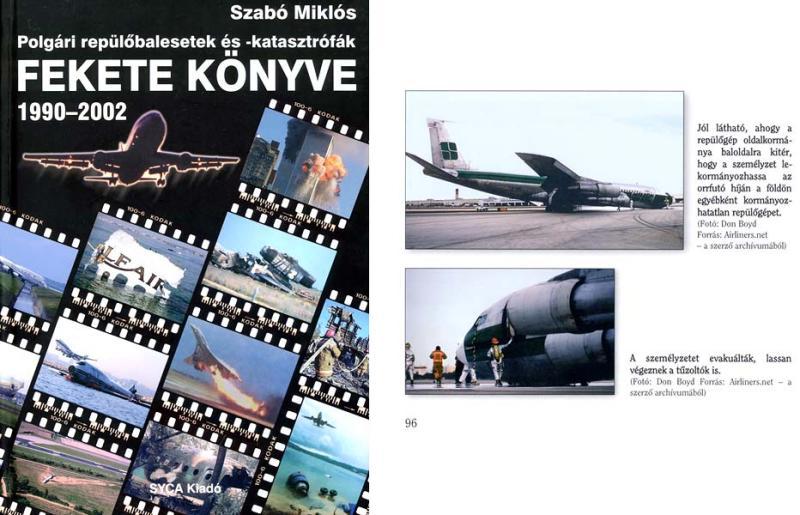 2005 - Szabo Miklos aircraft accident book Fekete Konyve 1990-2002 Hungarian edition