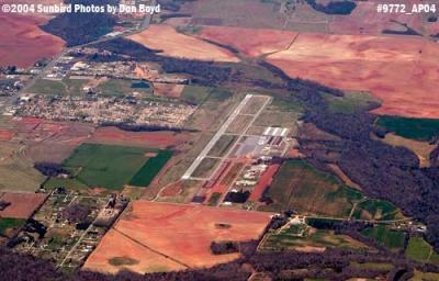 2004 - Madison County Executive Airport aerial aviation stock photo #9772