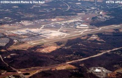 Charlotte Douglas International Airport aerial aviation stock photo #9775