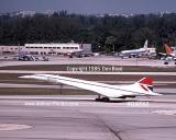 1985 - British Airways Concorde G-BOAB aviation airline stock photo #EU8502
