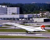 1985 - British Airways Concorde G-BOAB aviation airline stock photo #EU8512