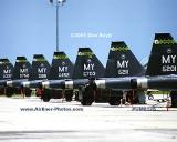 2001 - USAF Northrop T-38A Talons at Moody AFB military aviation stock photo #UM0125