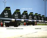 2001 - USAF Northrop T-38A Talons at Moody AFB military aviation stock photo #UM0126