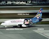 2002- Delta Express B737-232 Adv N310DA Powerpuff Girls aviation airline stock photo #US0223