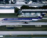 2001 - Midwest Express MD-80 N805ME in takeoff position at FLL aviation stock photo #US0125
