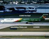 2002 - Vanguard MD80 aviation airline stock photo #US0203