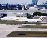2002 - Vanguard MD80 aviation airline stock photo #US0205