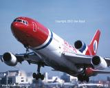 1995 - APA Dominicana L1011 aviation airline stock photo #CB9501