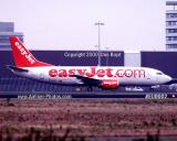 2000 - EasyJet B737-33V G-EZYG aviation airline stock photo #EU0002