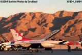 USAF Thunderbirds at sunset military aviation stock photo #2434
