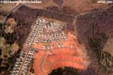 2004 - suburban sprawl and tree destruction into the south Charlotte countryside landscape aerial photo #9780