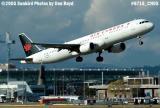 Air Canada A321-211 C-GJWD aviation airline stock photo #6715