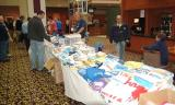Bryant Pettit and TriStar Inc.'s airliner t-shirts tables at the 2005 Boston Airline Show, photo #7207