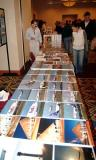 Edward Pascuzzi's photo prints display at the 2005 Boston Airline Show, photo #7219