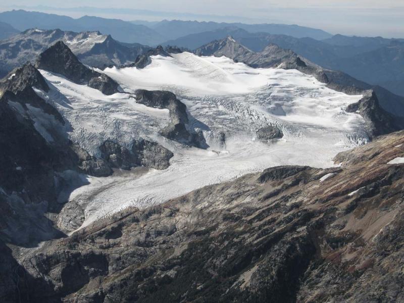 Neve Glacier, View SW (Snowfield-Neve092805-50adj.jpg)