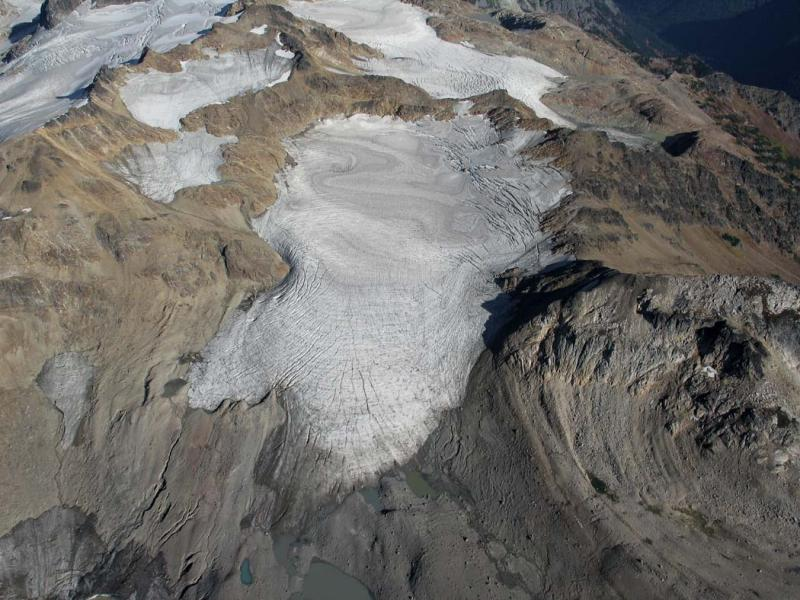 White Chuck Glacier (TenPks092705-122adj.jpg)