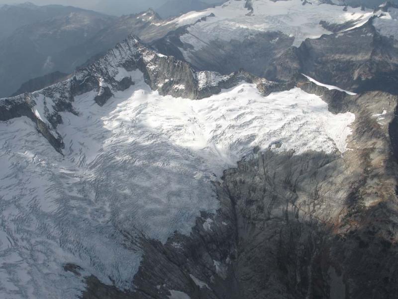 Boston Glacier & Forbidden Pk E Face (Forbidden102505-3adj.jpg)