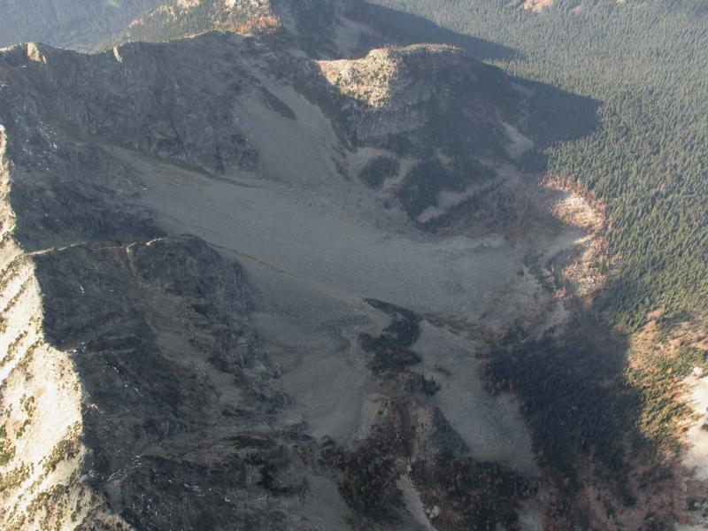 Hock Mt, N Face Rock Glacier (HockMt102505-1adj.jpg)