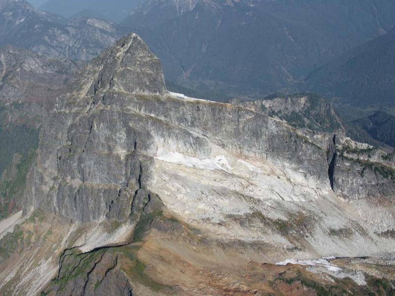 Sloan, S Glacier Remnant (Sloan102505-2adj.jpg)