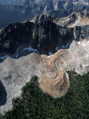 Silver Star: E Ridge Rock Glacier (SilverStar072005-05adj.jpg)