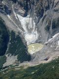 Degenhardt Glacier, Remnant/Lake Below Terminus (Degenhardt090105-14.jpg)