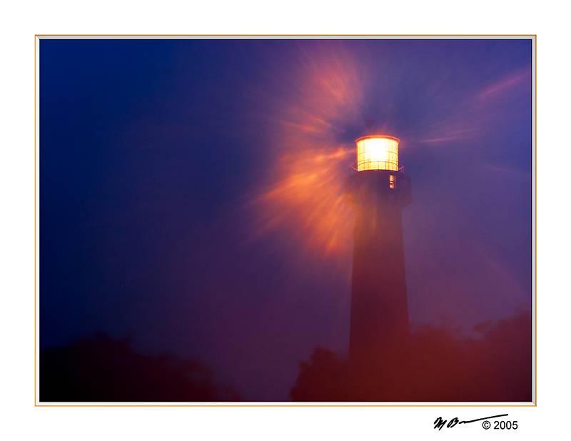 Barnegat Light in the Mist