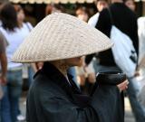 Monk outside of Kiyomizu dera