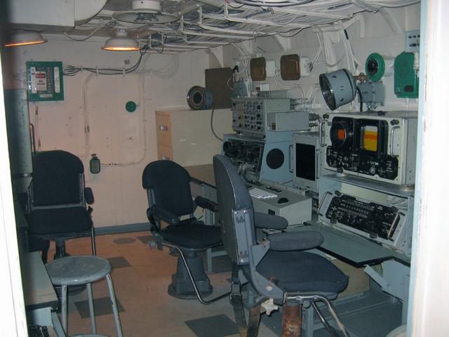Electronic Warfare Control Room Old Radio 4 Used To