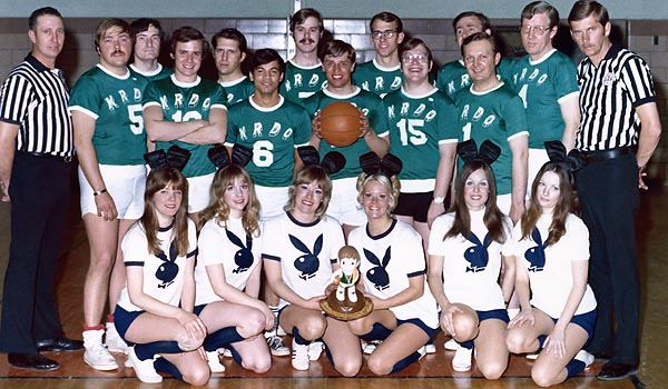 1973 - Denver Playboy Club Bunnies Basketball Team