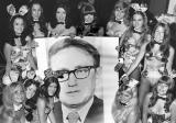 1972 - Brenda and Baltimore Playboy Club Bunnies with Henry Kissinger photo