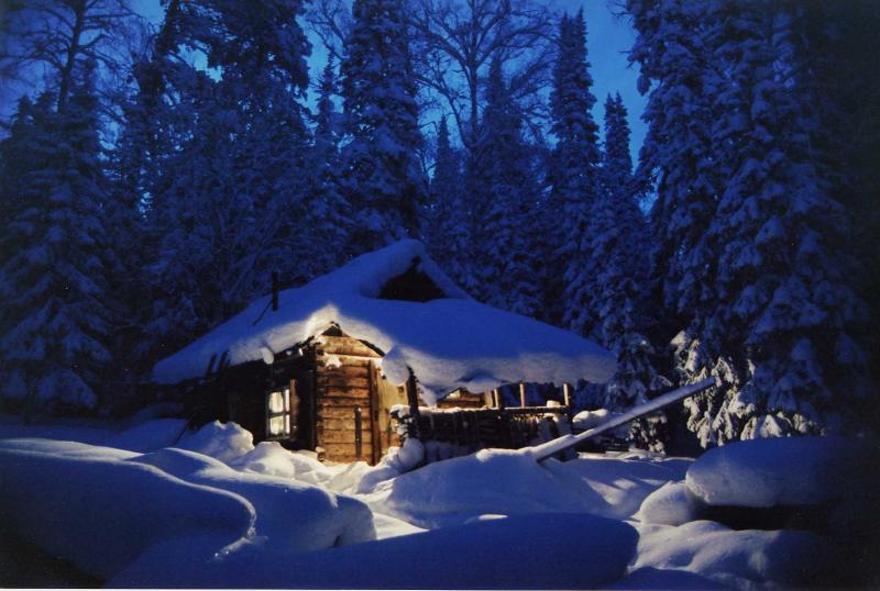 Last night of the second millennium in Siberia (December 31, 2000)
